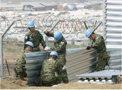 日自卫队队员遭南苏丹军队缴械 关押1小时后获释