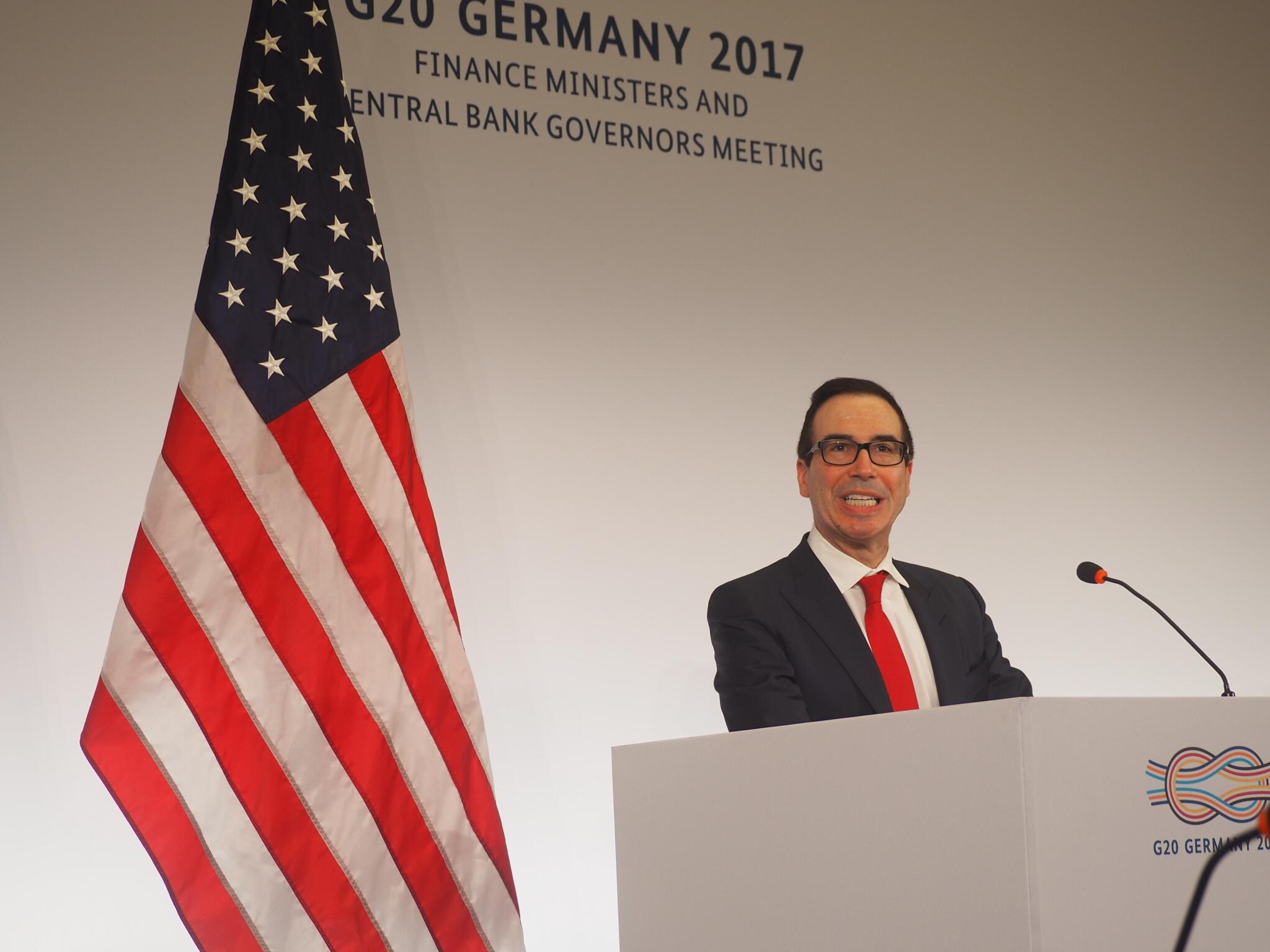 G20公告美国大获全胜 美财长称卓有成效 (组图)