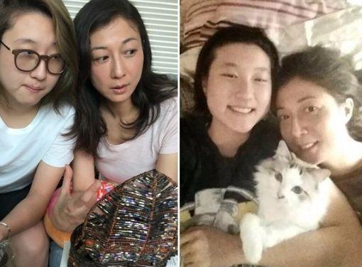 吴绮莉称已联系女儿 因记者多只能在家做饭吃