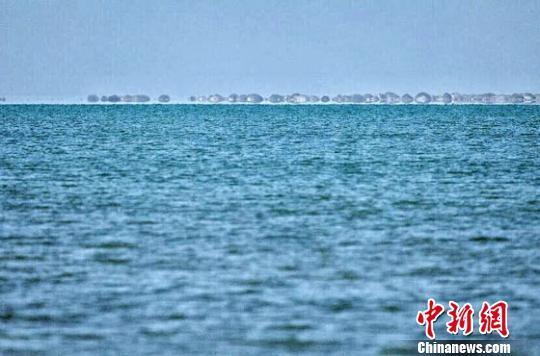 敦煌哈拉湖干涸半个多世纪后重现碧波_资讯频道_凤凰网