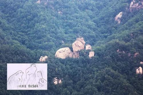 国家地质公园—汝阳西泰山上的奇石大观!