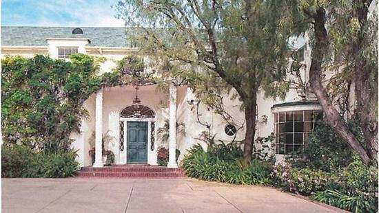 泰勒洛杉矶豪宅成地标 曾住过卓别林