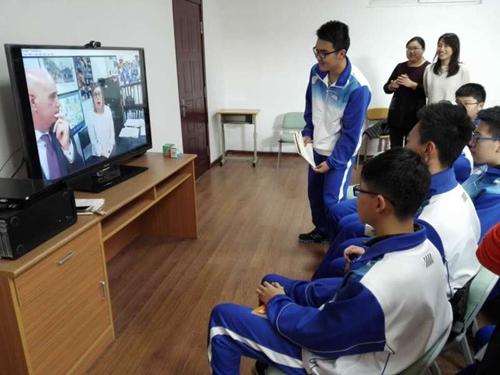 青岛十六中:发展中外合作办学