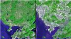 中国发展有多快?十城20年地图变化让人看呆