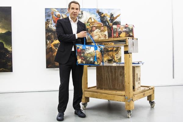 路易威登与世界知名艺术家JEFF KOONS之全新跨界合作