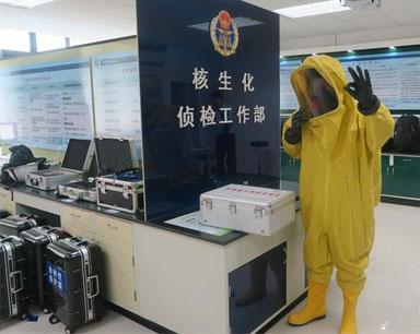 大榭国检加强口岸核生化应急处置能力队伍建设