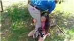 中国游客在南非遭猎豹突袭 惨叫不止
