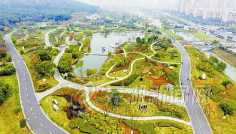 鸟瞰雕塑公园