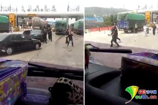 三门峡:涉毒嫌犯撞车逃离 警察警告无效开枪击毙