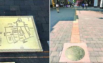 广州历史城区有了首条文物径 沿着地上铜件可找到历史遗址
