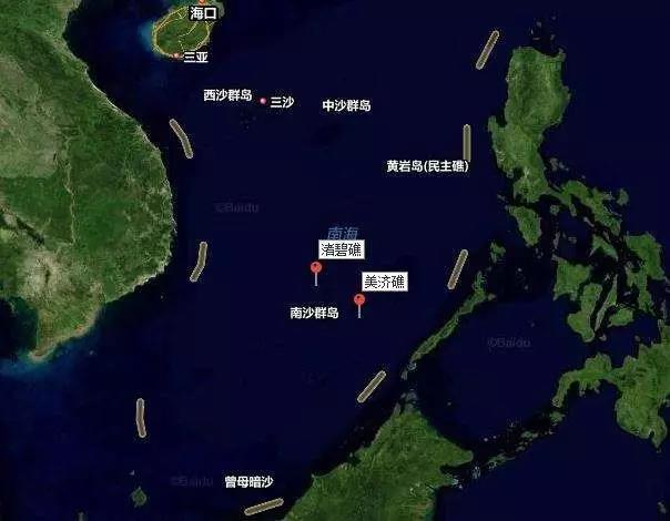 美舰再闯中国南海岛礁12海里