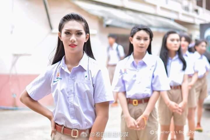 泰国男校开学仪式现场画面_凤凰财经频道_凤凰网