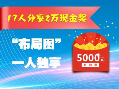 公告:17人分享2万现金奖