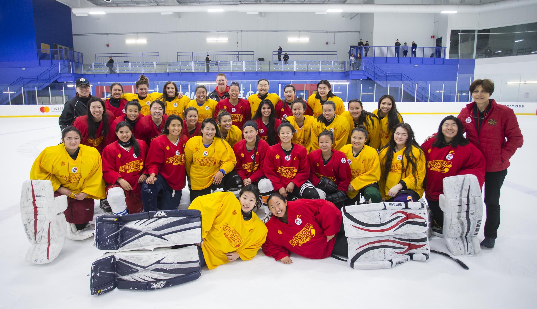中国冰球结束选拔_超百名海外球员参与其中