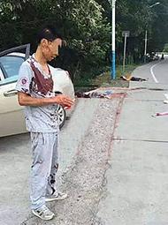 男子杀害母子后 村民说杀错人了