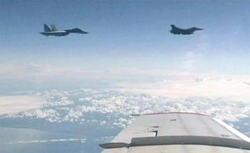 """""""波罗的海上空的危险游戏:波兰F-16拦截俄防长座机""""title=""""波罗的海上空的危险游戏:波兰F-16拦截俄防长座机"""""""