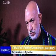 专访卡尔扎伊:美军在阿富汗另有目的