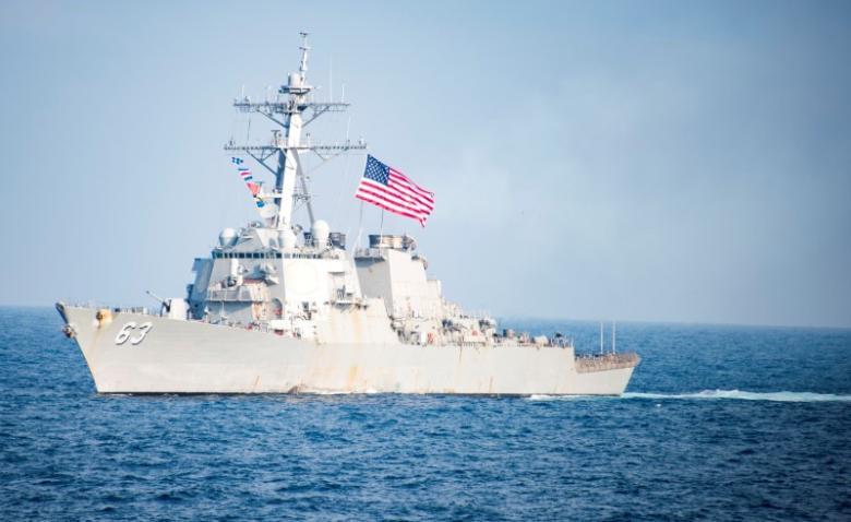 美舰闯入西沙12海里 遭中方警告驱离