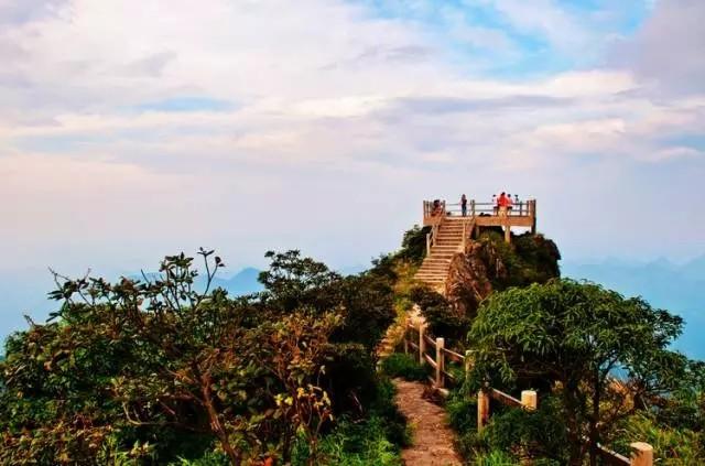 9.郴州莽山国家森林公园