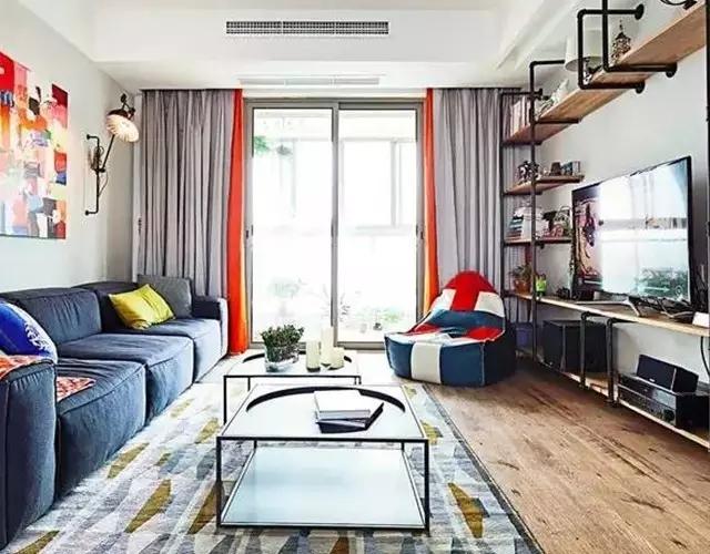 客厅配色方案十二套 总有一套撩到你