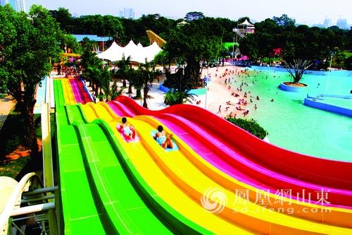 蓬莱欧乐堡水上世界7.18开园 八仙过海度假区暑期狂欢潮开启