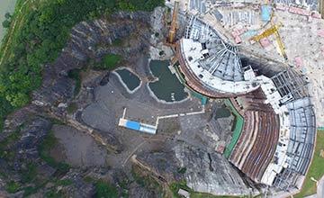 耗资6亿!中国把日本曾经砸的坑 打造成超级建筑