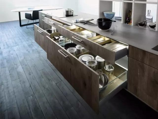 这些暖心的橱柜细节设计,让下厨变成一种享受!