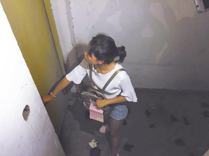 地震时逃生跑下20楼 发现小区安全通道竟是死胡同