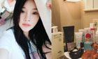 李小璐的美丽秘籍都来自化妆台