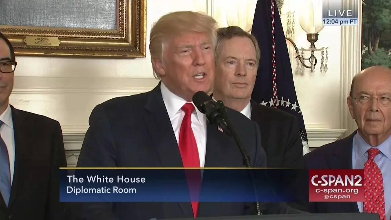 特朗普下令对华贸易调查 称保护美国工人
