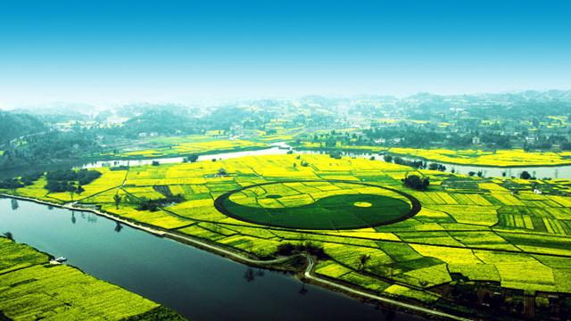 潼南玉溪风景图片