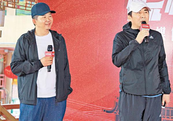 陈建斌出席新片见面会,称完全被导演的魔力吸引