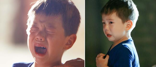 《爸爸去哪儿》杜江父子面临分离 嗯哼泪奔找爸爸