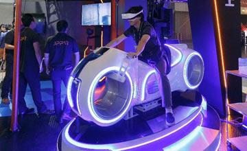 2017东京电玩展现场照 人们在这里体验未来