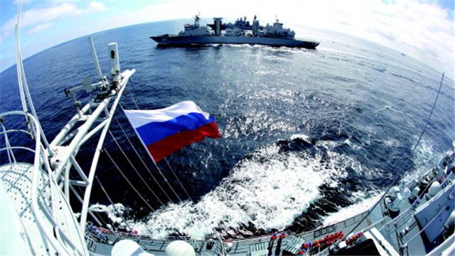 海军遛个弯儿把日本吓坏