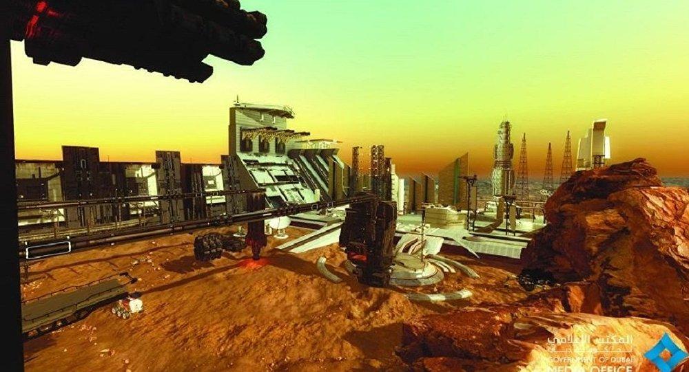"""造价高昂 迪拜将建""""火星城区""""为星际移民做准备"""