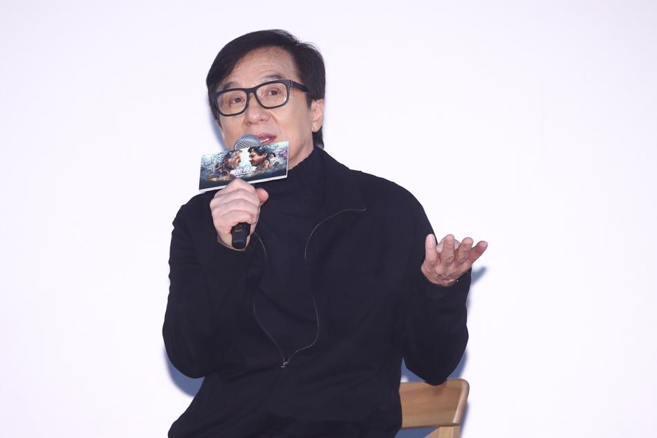 成龙:要让观众知道我是一个演员,不只是动作演员