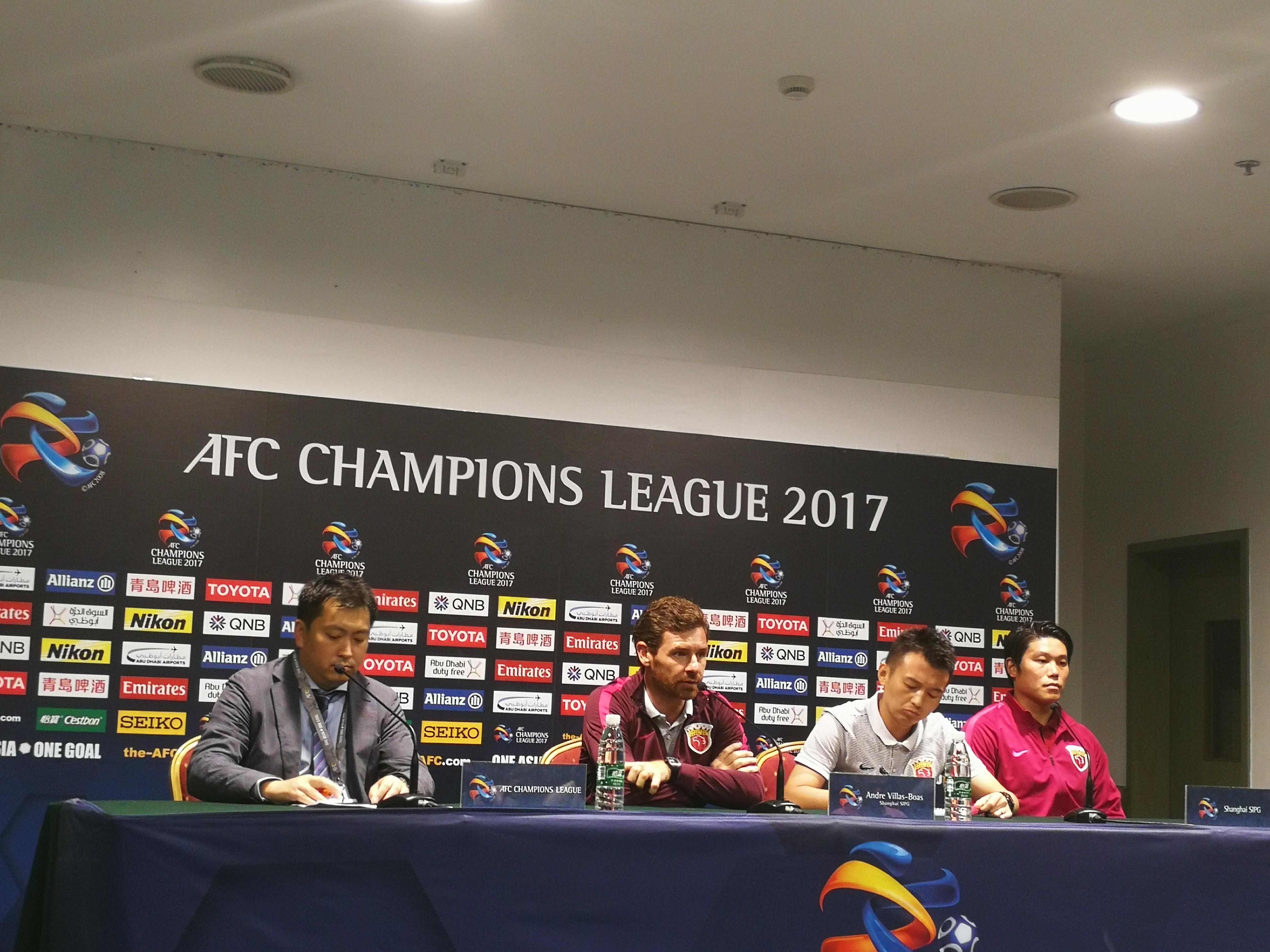 博阿斯:主场打浦和力争好结果 中超仍存夺冠可能