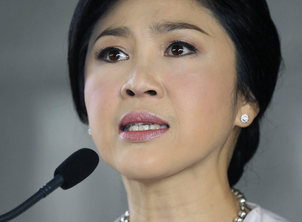 """泰国""""大米渎职案""""宣判:英拉罪名成立获刑5年"""