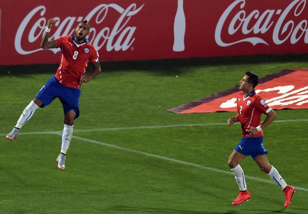 比达尔否认退出智利国家队 黄金一代未完待续