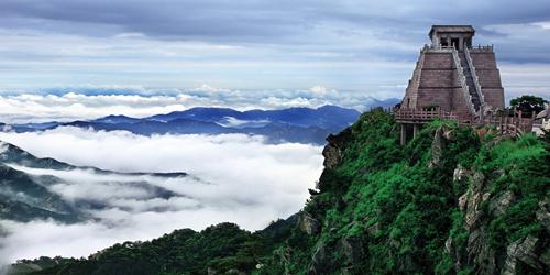 乐享旅游  沂蒙山旅游区龟蒙景区,位于临沂市西北部, 为临沂市第一家