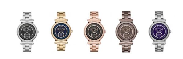 Michael Kors在中國推出時尚智能腕表系列