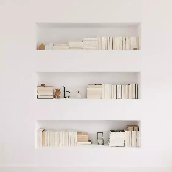墙面收纳方式多,别再让大白墙裸奔了!