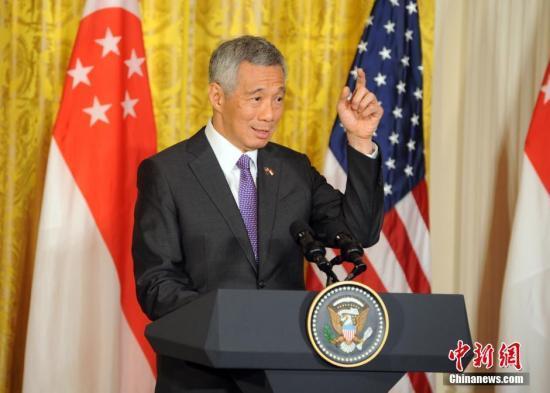 新加坡总理李显龙访美 签138亿美元客机大单