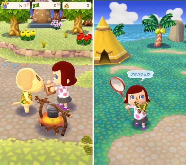 在本次所推出的《动物之森》手机版《动物之森:口袋营地》当中,玩家将