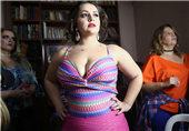 巴西举办胖美人选美大赛