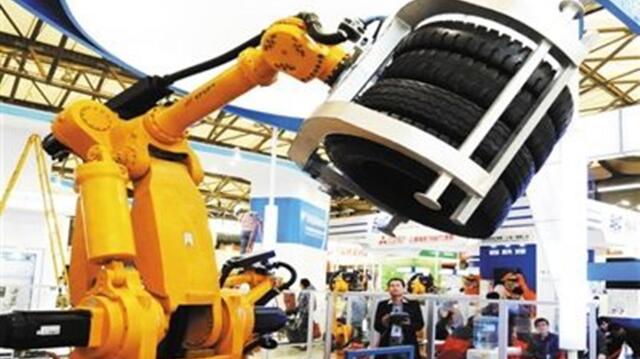 中国工业机器人弯道超车风