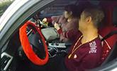 无牌宝马高速超速93% 可怕的是司机没有手
