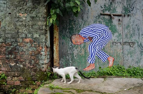 废墟上的艺术家ROBBBB,他让世界看到中国人最真实的模样