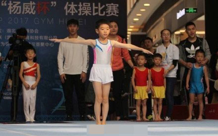 杨阳洋体操赛获奖